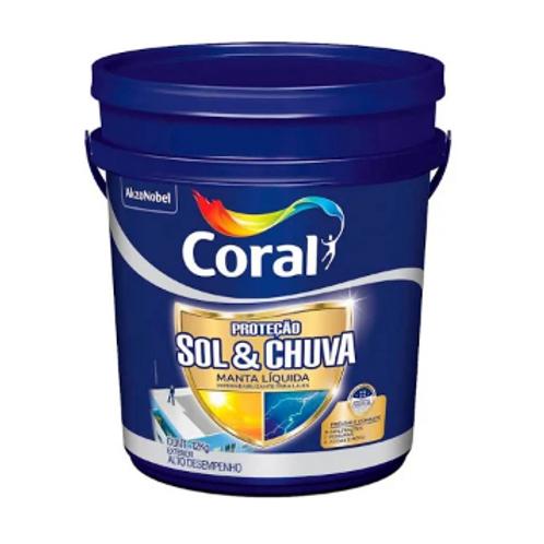 MANTA LIQUIDA CORAL SOL&CHUVA  12 KG
