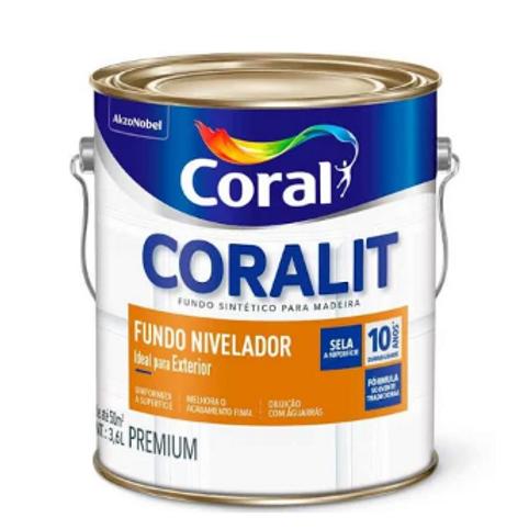 FUNDO NIVELADOR BRANCO 3,6L CORAL