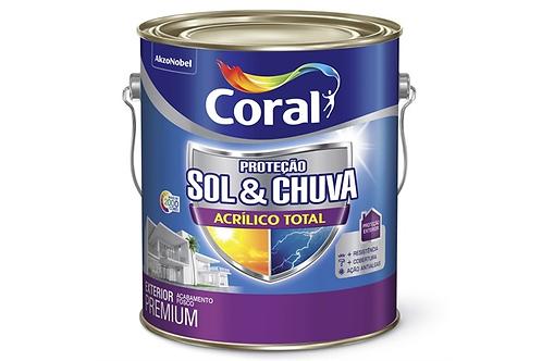 ACRIL TOTAL CORAL SOL&CHUVA BRANCO 3.6L