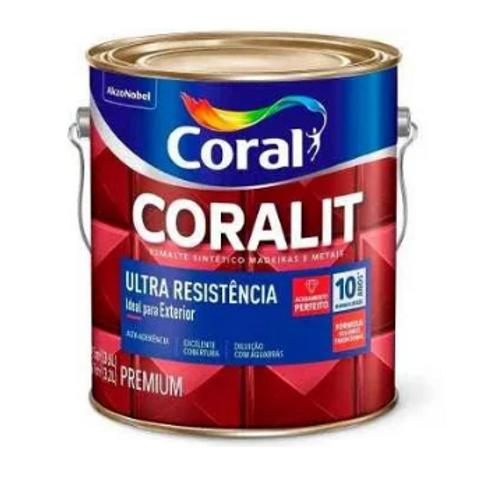 ESMALTE CORALIT ULTRA RESIST AB BRANCO 900ML
