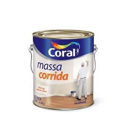 MASSA CORRIDA CORAL BRANCO 6.0KG