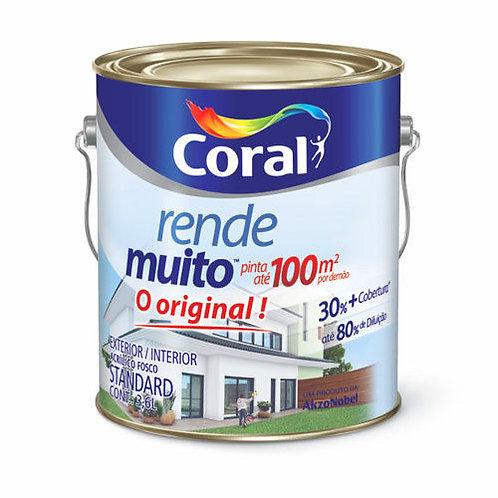 ACRIL RENDE MUITO CORAL BRANCO 900ML