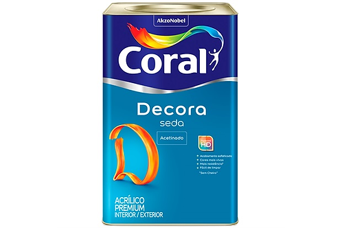 ACRIL DECORA SEDA ACET BRANCO 18L