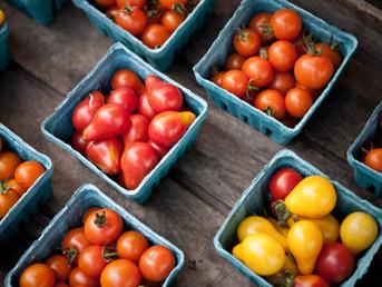 Fruits et légumes du mois de Juin
