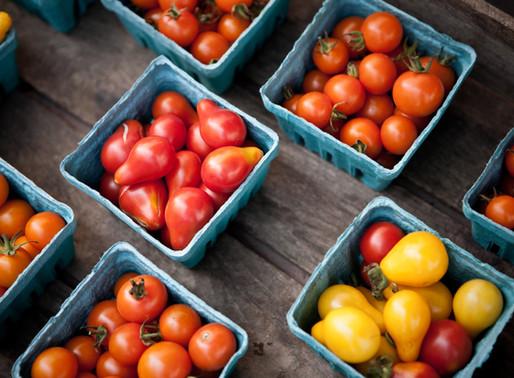 Navigate your way through the farmer's market