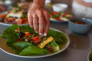 Lettuce Wrap - photo by Julia Gray Creative