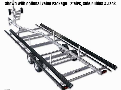 Tri-toon Aluminum 20-25' Tandem 4400#