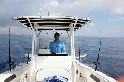 Mike Q. loves his Bimini Boat