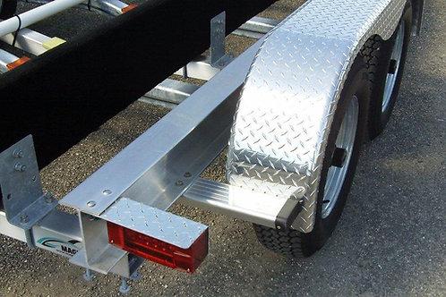 Aluminum 25' to 27', 8600LBS