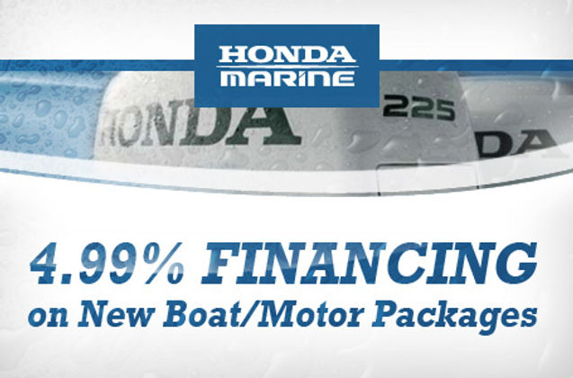 Honda Financing thru Top Notch Marine