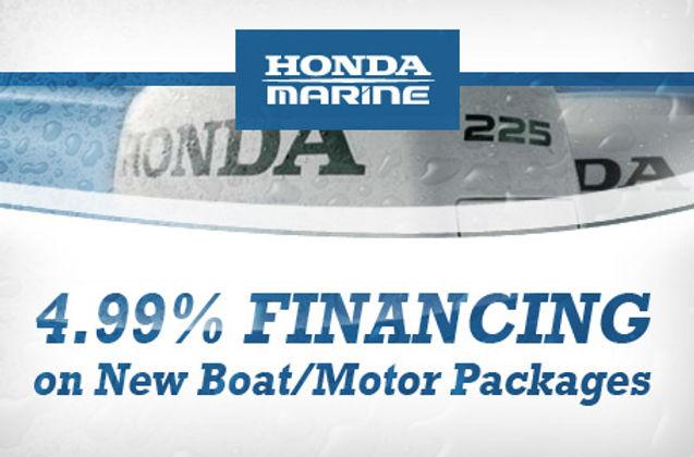 Honda Financing thru Top Notch Marine