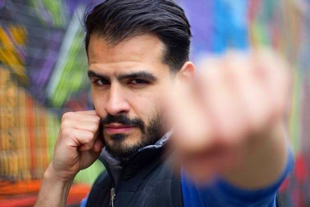 Kickboxer, Motivator and Entrepreneur Charlie KO Torres
