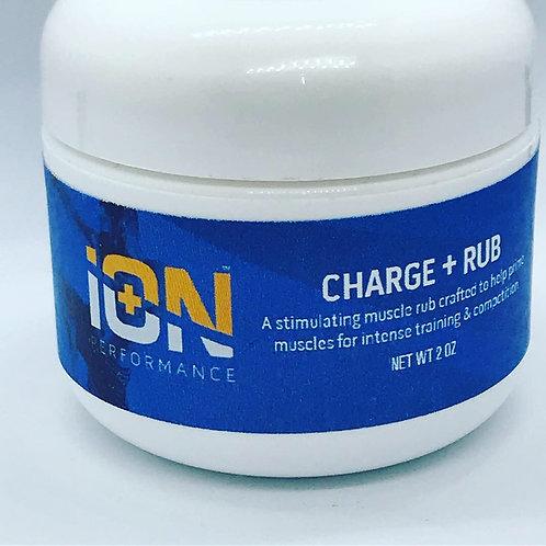 iON Charge Warmup Muscle Rub w/Vitamin E