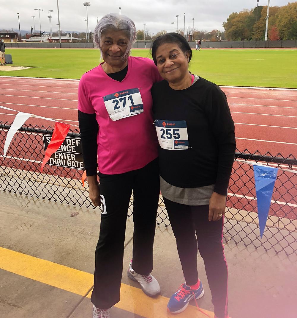 Senior Athletics USATF Alabama Mable Sager and Christine Davis