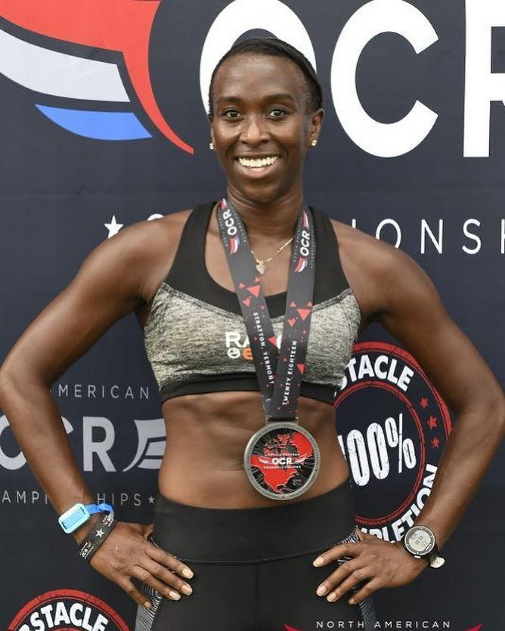 Maryse Gordon at North American OCR Championships