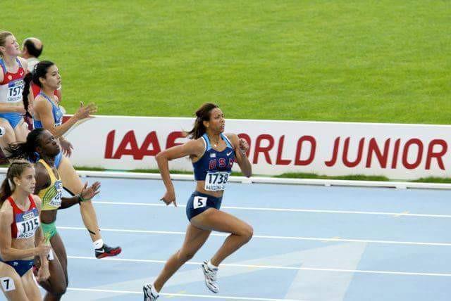 olivia ekpone track athlete
