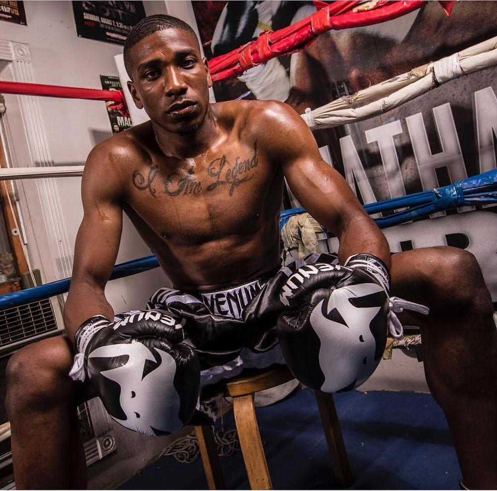 Professional Boxer Cesar Fancis