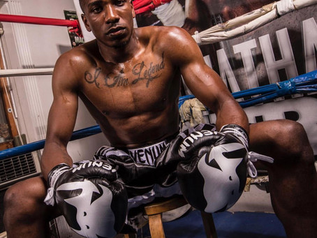 "iON Featured Athlete: Boxer, Cesar ""Rainman"" Francis 
