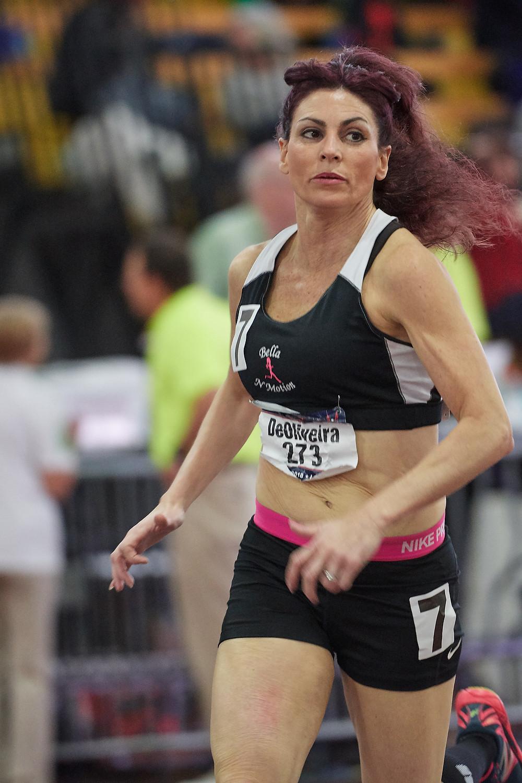 Masters Track Runner Dianne DeOliveira USATFNJ