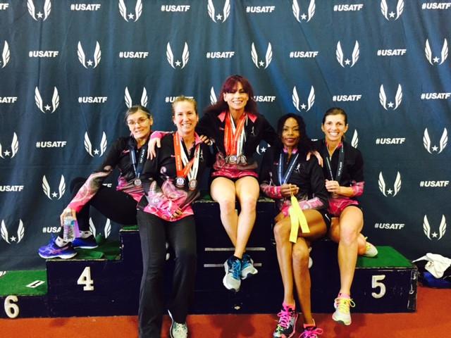 Bellas N Motion at USATF Championships