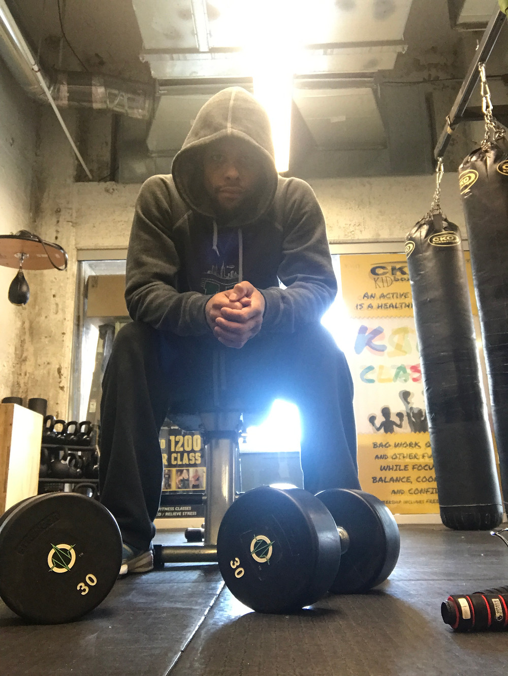 Kristian Parrilla kickboxer