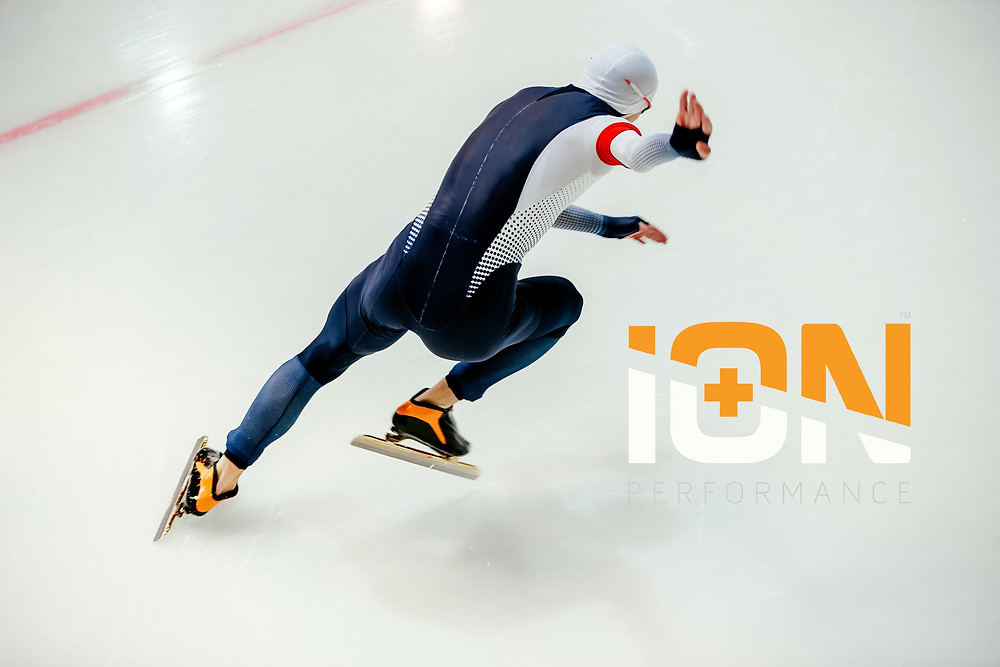 speed skater ion performance winter sports