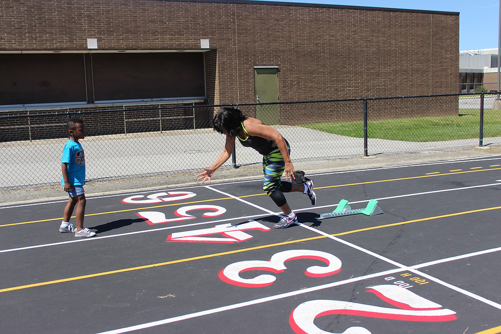 Senior Runner Track Woman USATF Christine Davis