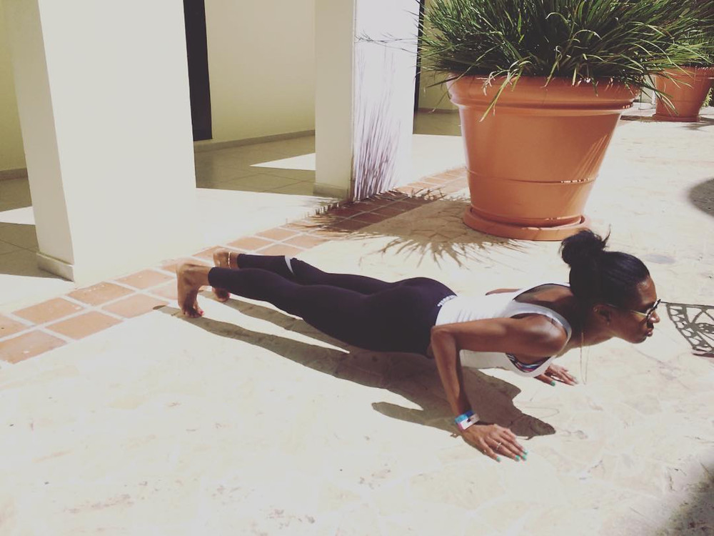 danielle Macneilly yoga pose