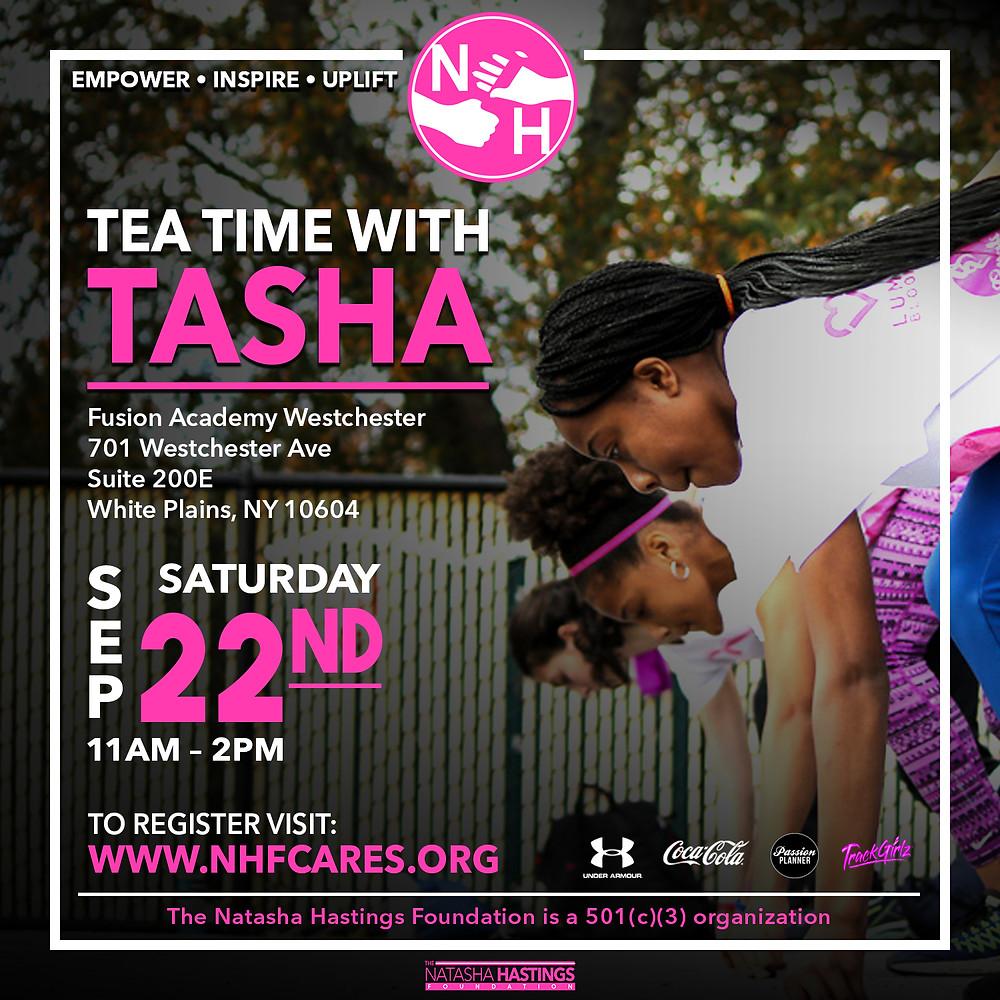 Tea Time with Tasha Natasha Hastings Foundation