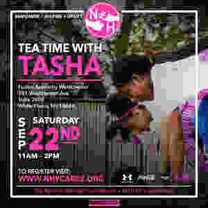 Tea Time with Tasha Natasha Hastings Foundation