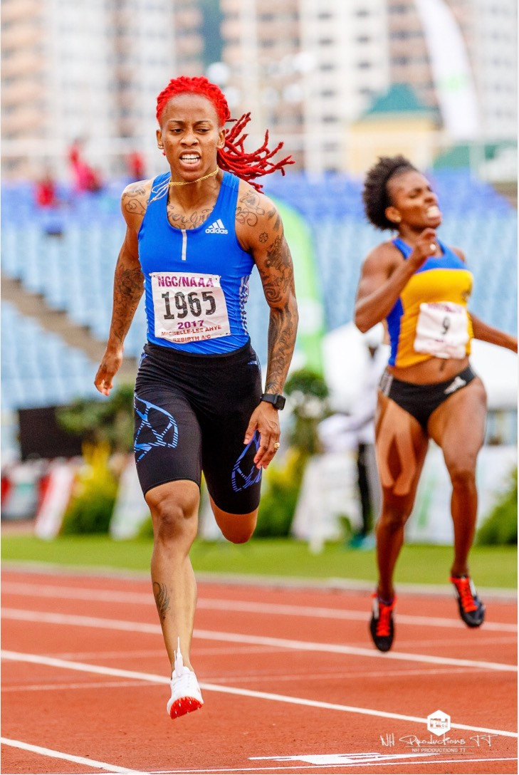 Michelle lee-Ahye trinidad sprinter commonwealth games champion