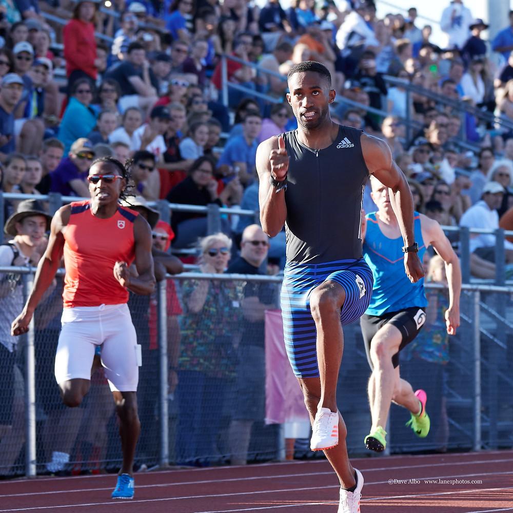 Olympian Sprinter Jeremy Dodson