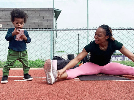 Power of M.O.M. Embracing the power of motherhood with Olympic Sprinter, Natasha Hastings!