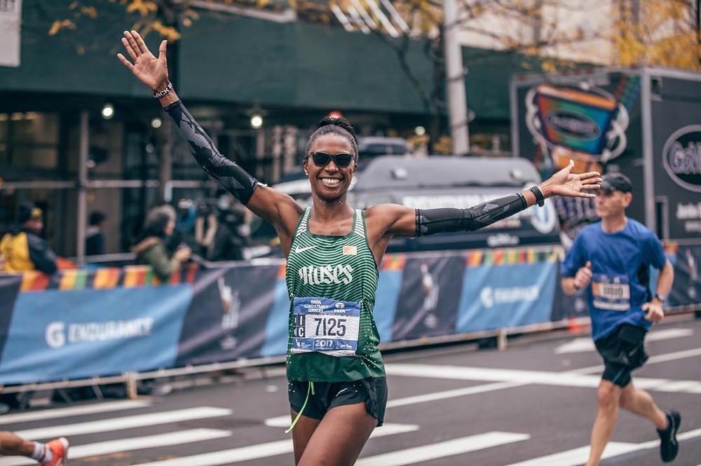 Danielle Mcneily marathon runner