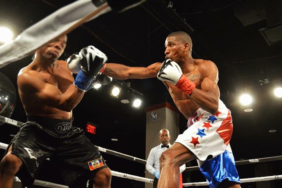 Cesar Francis Professional Boxer