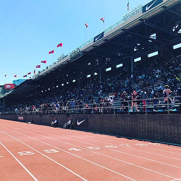 Amazingly #beautiful day for #pennrelays !!! #getcharged #tracknation