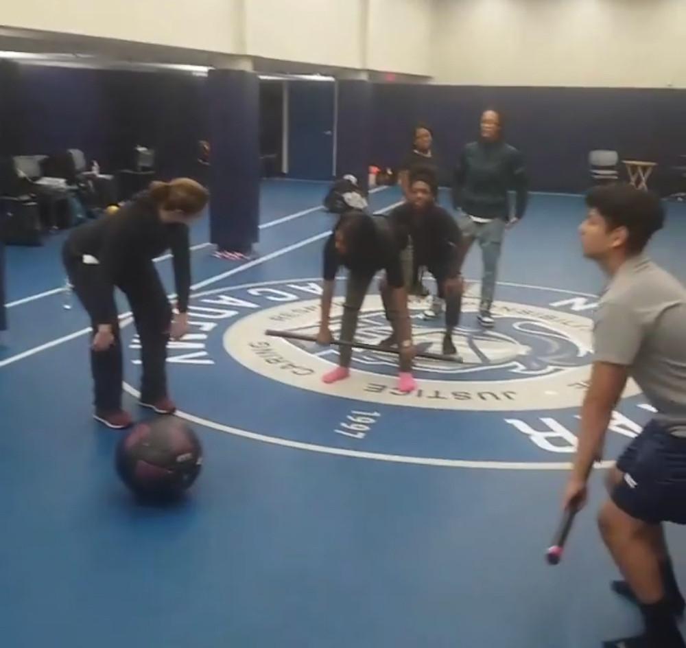 Newark Brick City Fitness Veronica Pagel training Neark's Kids