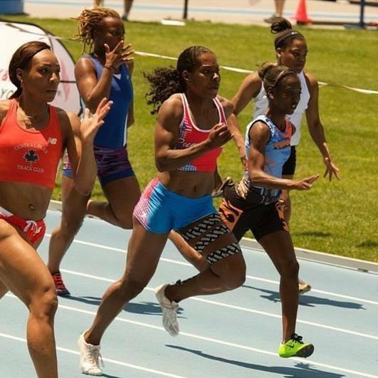 Puerto Rican Athlete Antoinette Padilla Sprinter