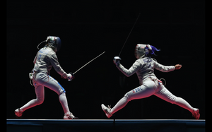 Saber Fencer Dagmara Wozniak at the Rio Olympics