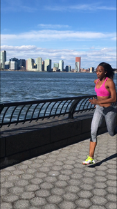 New York Runner Maryse Gordon