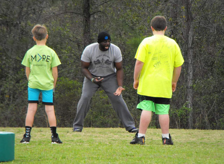 Marine Turned Motivator. Coach Diontae Trawick empowers youth with poise, performance and character.