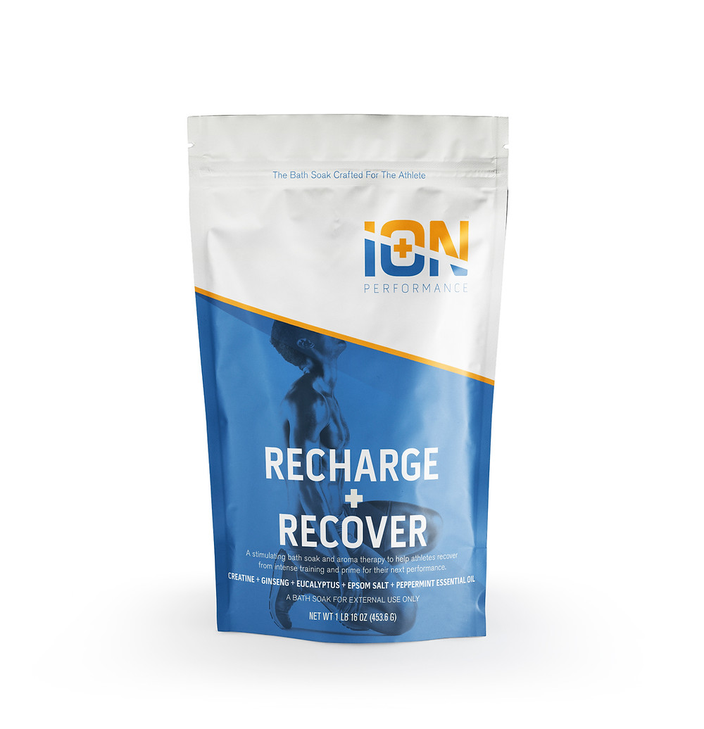 Ion Performance Recovery soak for sore muscles with epsom salt
