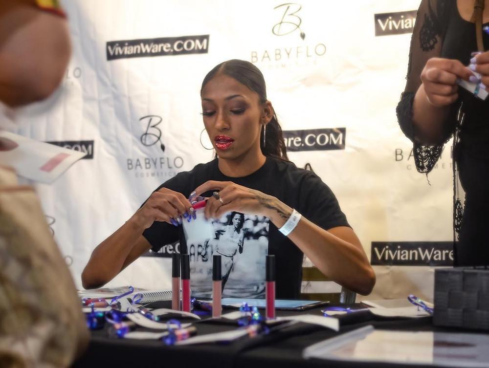 Black Entrepreneur Woman BabyFlo Cosmetics Jasmine Todd