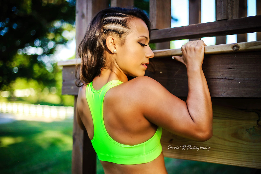 Fitness Trainer, Strong Woman, Kris Clabornpull-ups