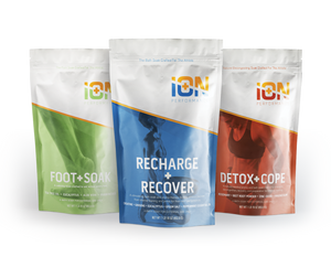 iON Recovery foot Soak and Detox