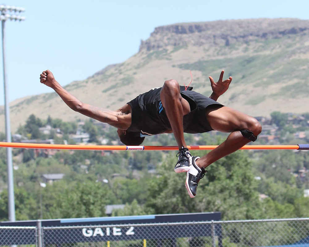 high jumper and track coach myreon sartin