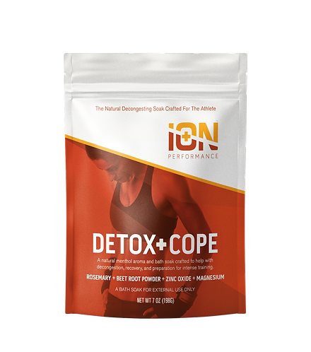 iON Detox + Cope Travel Pouches 6 Pack