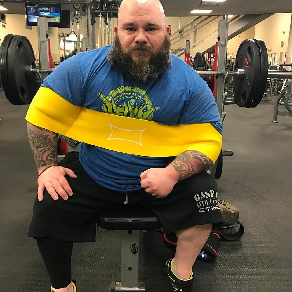 Billy Petrinzyck Disabled Strongman