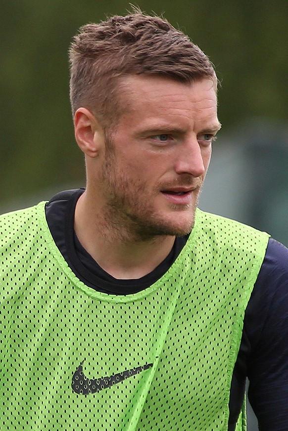 Jamie Vardy post match recovery soccer