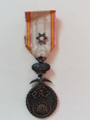 Médaille de la Paix du Maroc attribuée en 1928 à Alfred Sabatier. Avers.